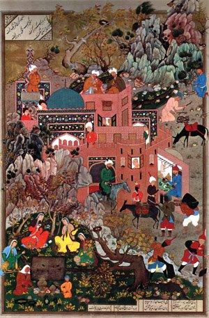 زمان و مکان در نگارگری ایرانی ، قسمت هشتم