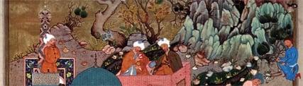 زمان و مکان در نگارگری ایرانی، قسمت چهارم