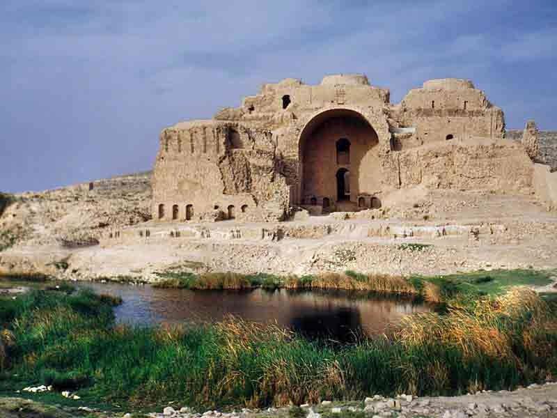 اکتشافات جدید در عمارت خسرو در قصرشیرین