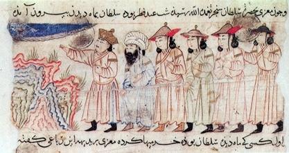نگارگری در دورۀ مغول