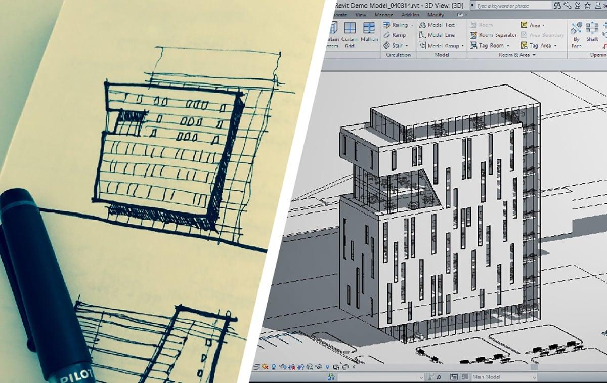 نسبت معماری با تکنولوژی