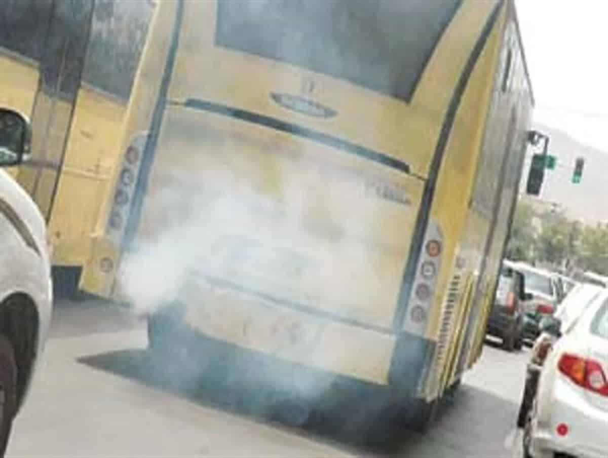 اثر اتوبوس های شهری بر آلودگی هوای اصفهان