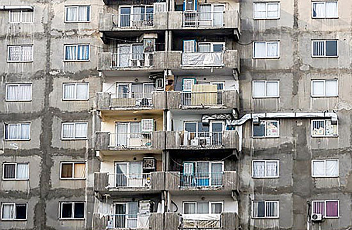 ساماندهی جنگل ناموزون نماهای ساختمان در تهران