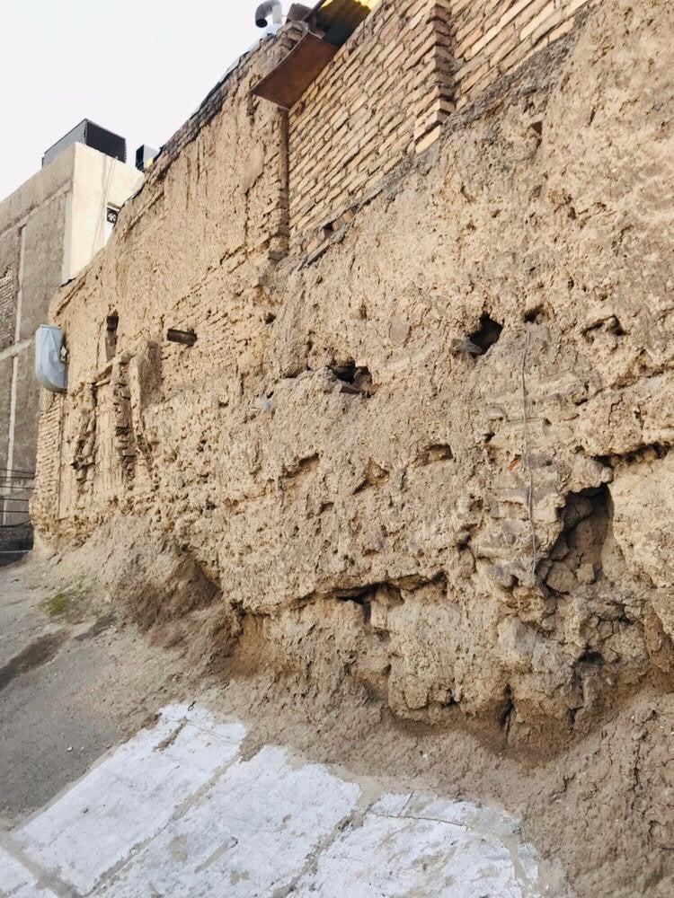 دیواری که روزگاری بخشی از باروی تهران بود
