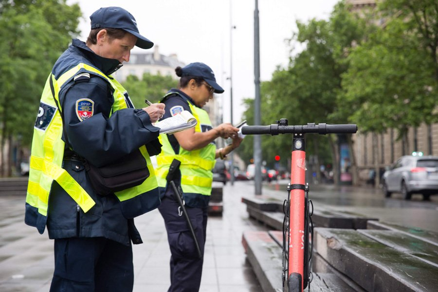 کاهش آلودگی هوا در پاریس به قیمت بینظمی در خیابان ها