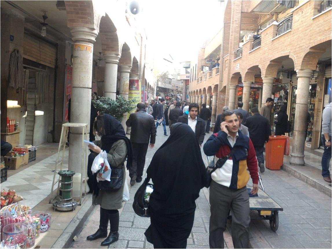 کوچه مروی در مقایسه با گذرهای پیاده مدار موفق