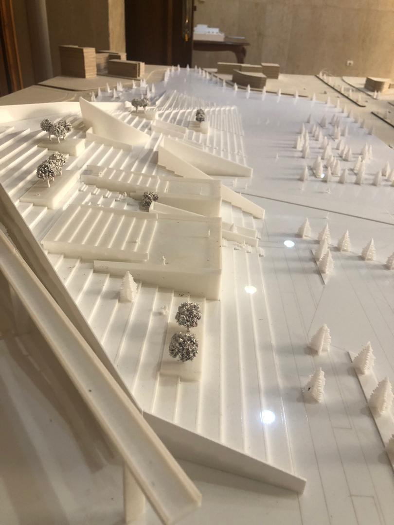 ایدۀ طرح تئاتر شهر کرج، هویتبخشی به منظر از یادرفتۀ شهر کرج است.