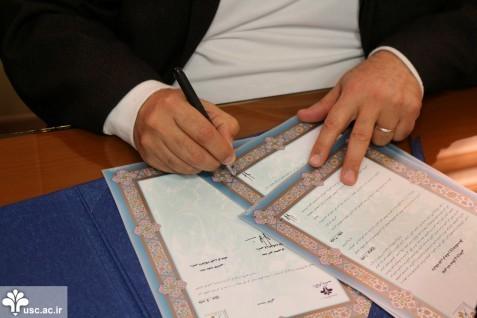 امضاء تفاهمنامۀ همکاری میان پژوهشکدۀ نظر و دانشگاه علم و فرهنگ