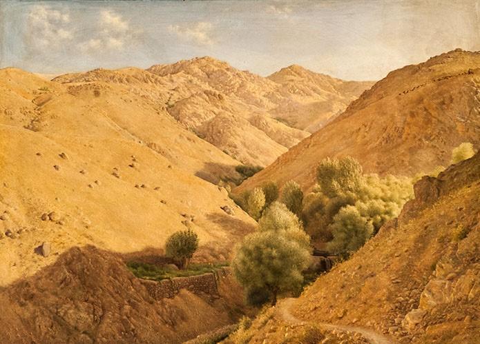 نقاشی اثر حسنعلی وزیری، نقاش و پیکرتراش
