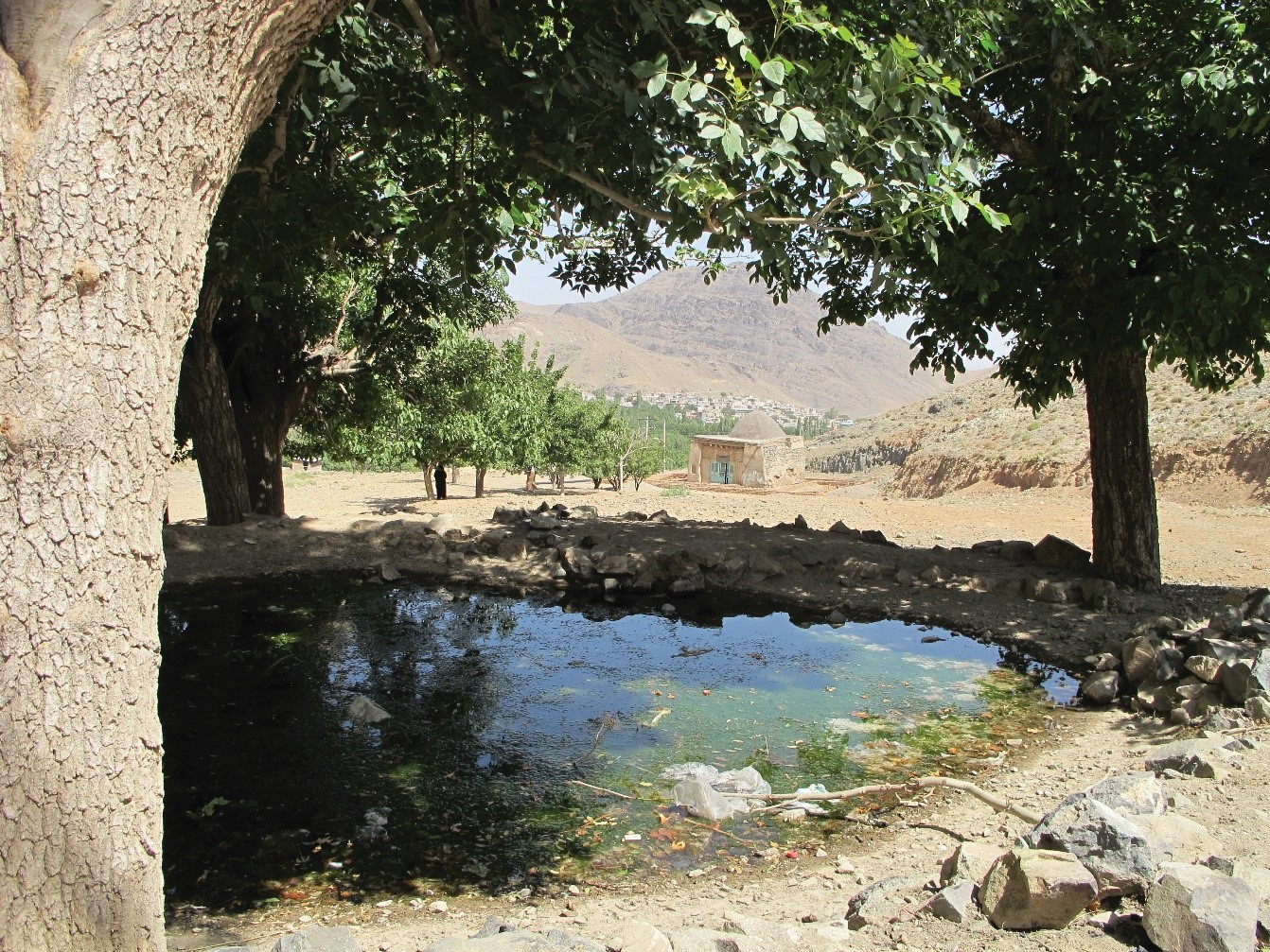 روستای نشلج؛ نیاسر کاشان