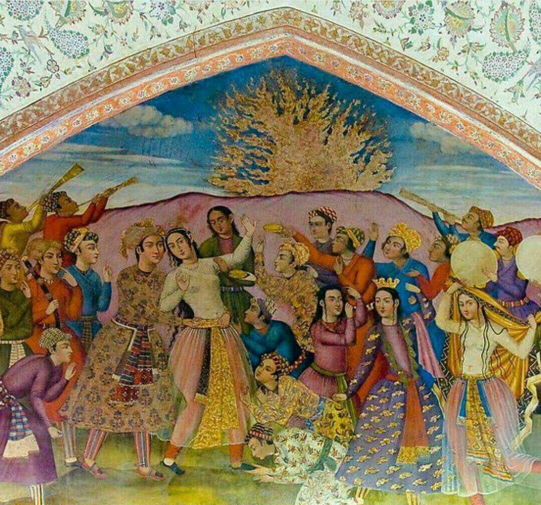 چهارشنبهسوری، آئینی از ایران باستان یا رسم ایرانیان در دوران اسلامی