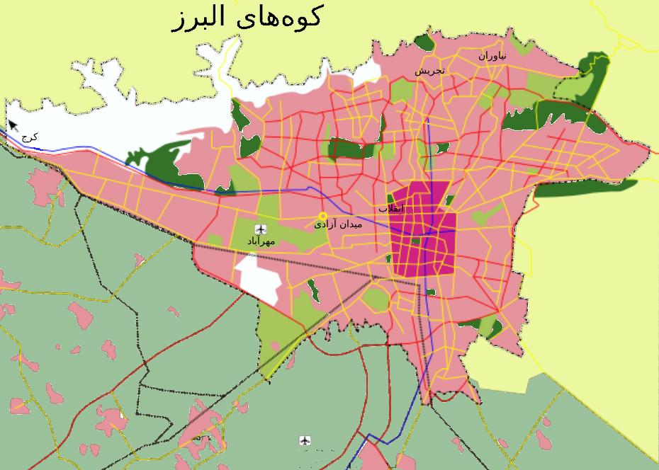 Tehran Tourism Plan