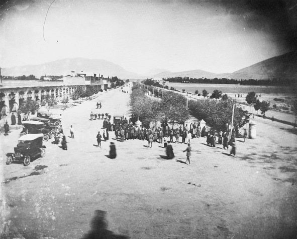 الگوی «میدان-معبر»، الگوی غالب توسعه شهر جدید در دوره رضاشاه و شکلگیری بافت میانیِ شیراز امروز