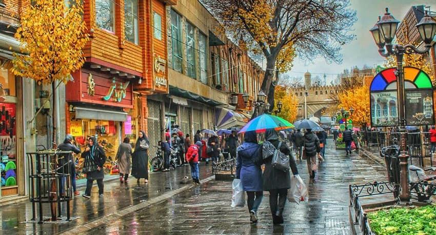 نقش خیابان در ایران مدرن با رویکرد نحو فضا