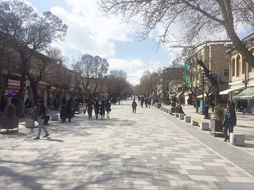 پیاده راه سازی راهی برای برند شدن شهرداری
