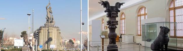 سیطره نگاه موزه ای بر مجسمه شهری در ایران