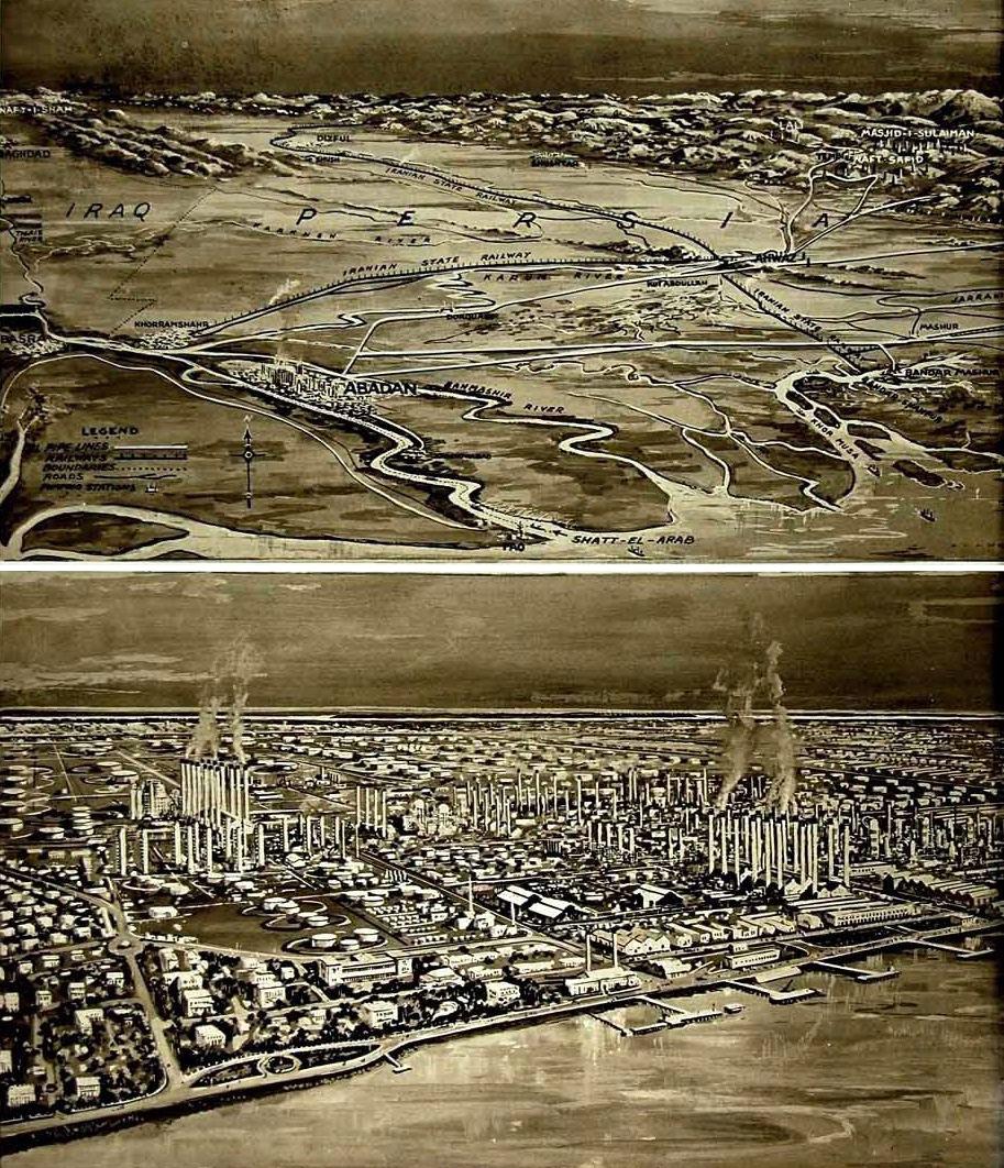 ارزیابی منظر صنعتی آبادان