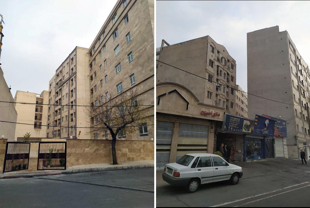 سیمای شهری هسته های روستایی تهران