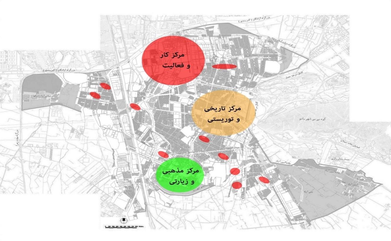 تاثیر طرح های بالادستی در تضعیف منظر شهری شهر ری از دیروز تا امروز