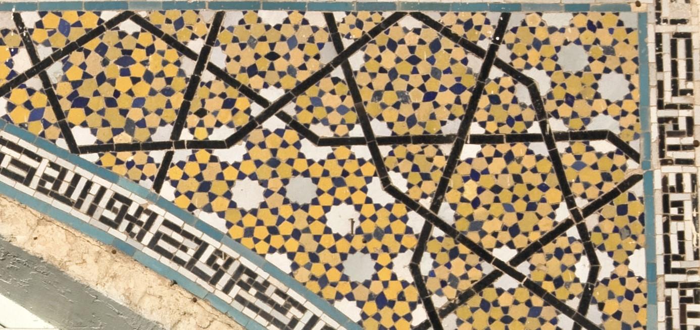 زیبایی هندسه ایرانی همیشه در تقارن نیست