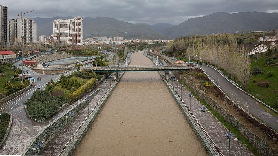 تهران فقط یک رودخانه کن دارد