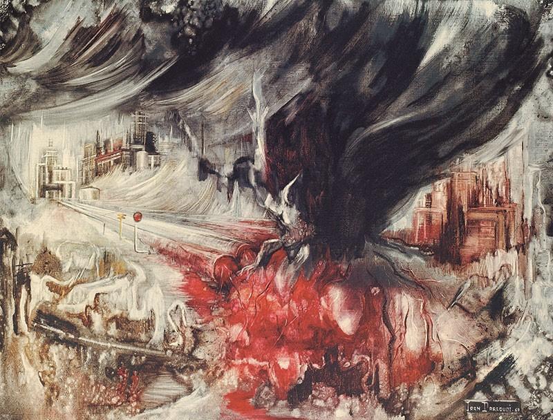 بازنمایی منظر نفت در آثار نقاشان معاصر ایرانی