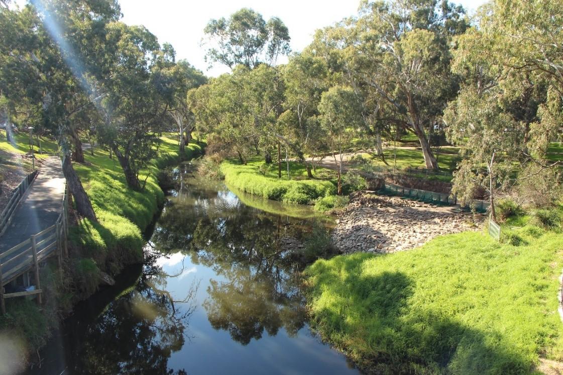 احیاء رودخانه فصلی تورنس و کنترل سیلاب در شهر آدلاید استرالیا
