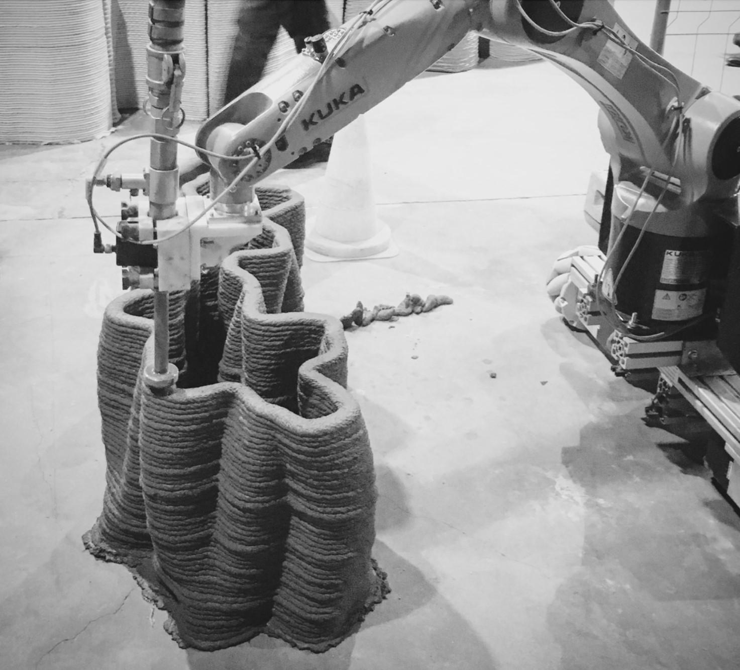 چاپ سه بعدی در ساختمان